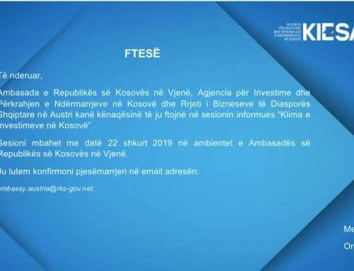 """Sesioni informues """"Kosova gati për ju"""""""