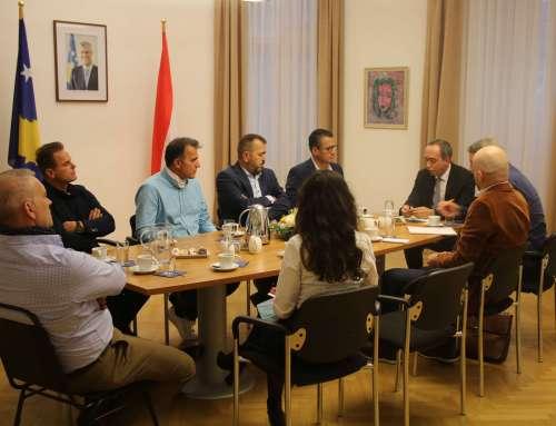 Takimi i kryesisë së Rrjetit të Biznesit me ambasadorin e Kosovës në Austri z. Lulzim Pllana